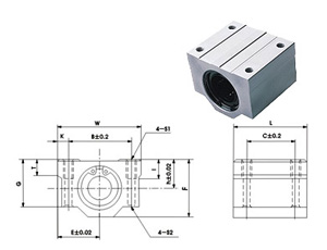 linear bearing slide units