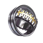 Spherical bearings with  symmetrical rollers, asymmetrical rollers