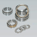 Minianture plane thrust bearings