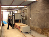 Annealing furnace workroom